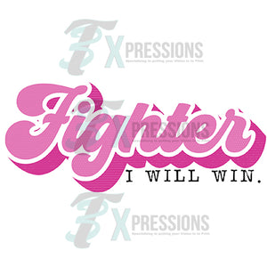 Fighter Retro I will win