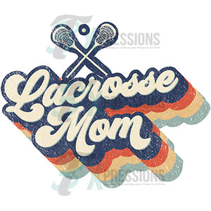 Retro Lacrosse Mom