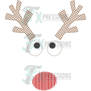 Applique Reindeer Boy