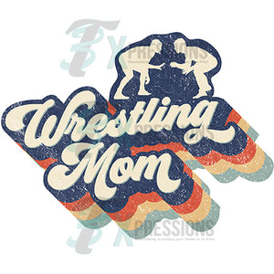 Retro Wrestling Mom