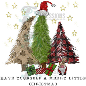 Have Yourself  a Merry Little Christmas Trees