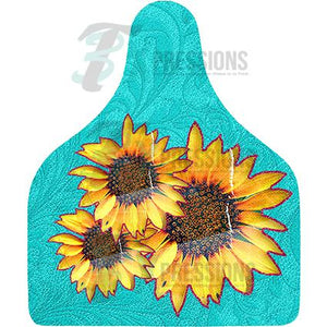 Sunflower, Cow Tag
