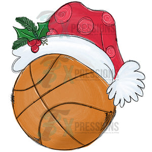 Santa Hat Basketball