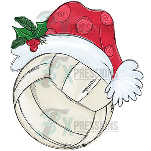 Santa Hat Volleyball