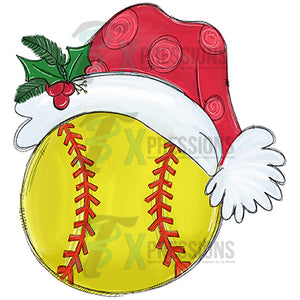 Santa Hat Softball