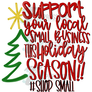 Support your Local Business this Holiday Season