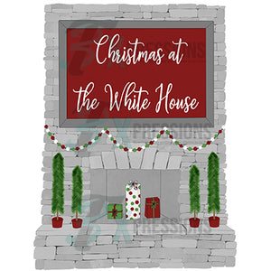 Personalized Christmas Mantle