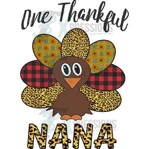 Personalized One Thankful Nana