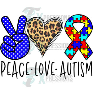 Peace Love Autism
