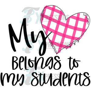 My Heart Belongs to my Students