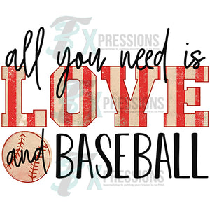 All you need is Love and Baseball