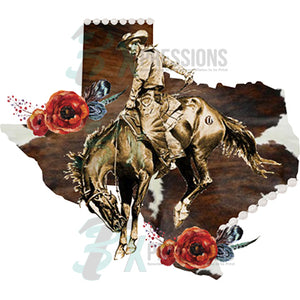Texas Bucking Brunco