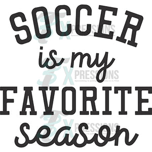 Soccer favorite season
