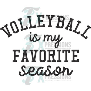 Volleyball favorite season