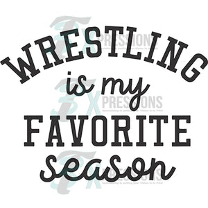 Wrestling favorite season