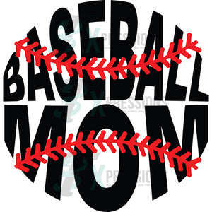 Baseball Mom Stitches