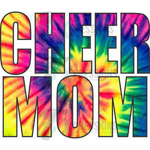 Cheer Mom Tie Dye