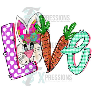 Love Easter Carrot V