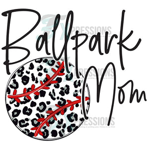Ballpark Mom baseball