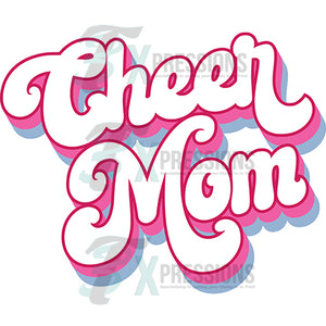 Cheer Mom Retro