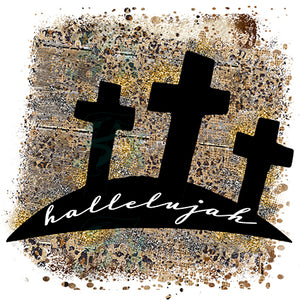 Hallelujah three crosses