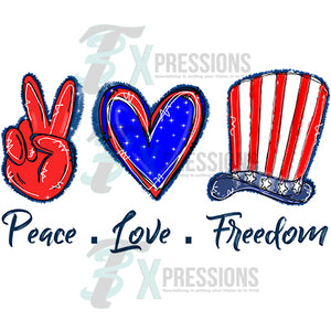 Peace Love Freedom