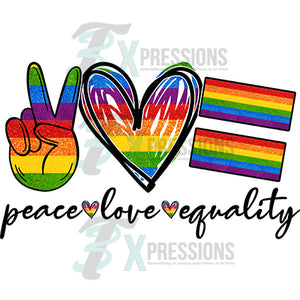 peace Love Equality