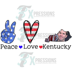 Peace Love Kentucky Andy