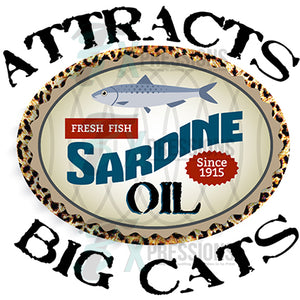 Sardine Oil - Attracts Big Cats