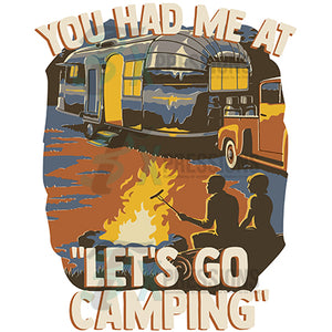 You had me at Let's Go Camping