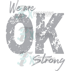 We are Oklahoma Strong