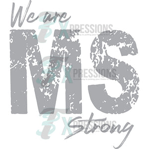 We are Mississippi Strong