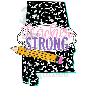 Teacher Strong Alabama