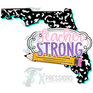 Teacher Strong Florida