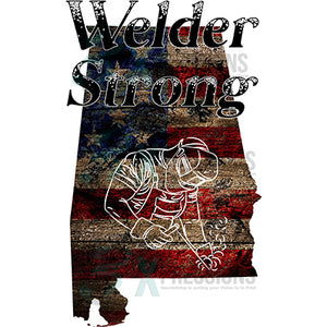 Alabama Welder Strong