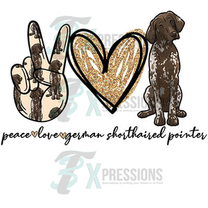 Peace Love Pointer