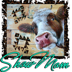 Show Mom Leopard MOO COW