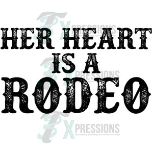 Her Heart is a Rodeo