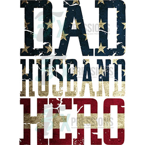 Dad Husband Hero