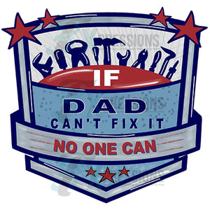 If dad cant fix it