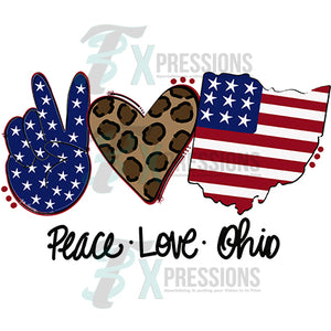 Peace Love Ohio