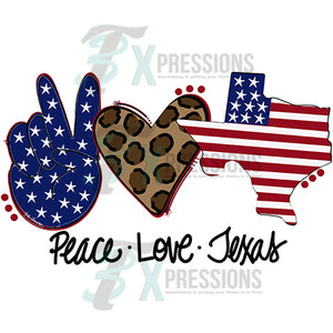 Peace Love Texas