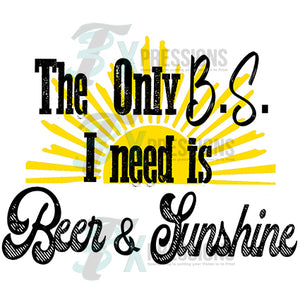 THe only B.S