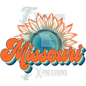 Missouri Vintage Sunflower