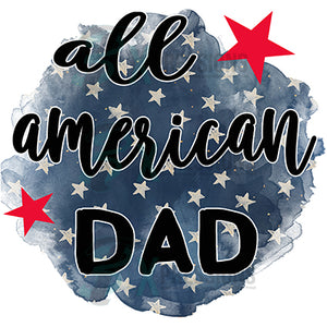 All American Dad star background