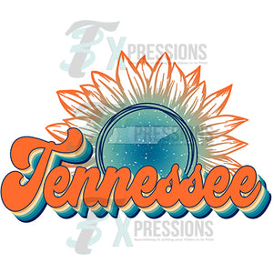 Tennessee Vintage Sunflower
