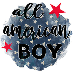 All American Boy star background
