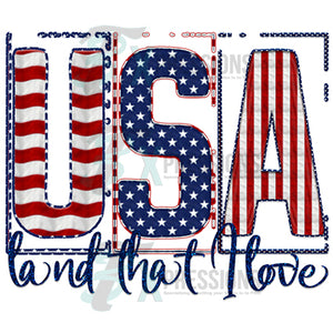 USA Land that I Love