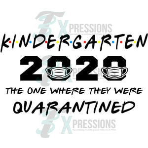 Kindergarten Graduation Quarantined
