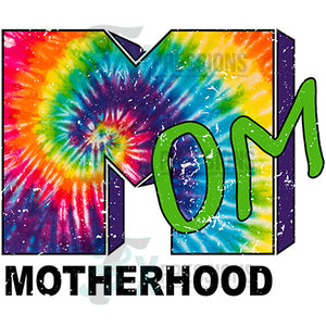 Tie Dye MTV Motherhood